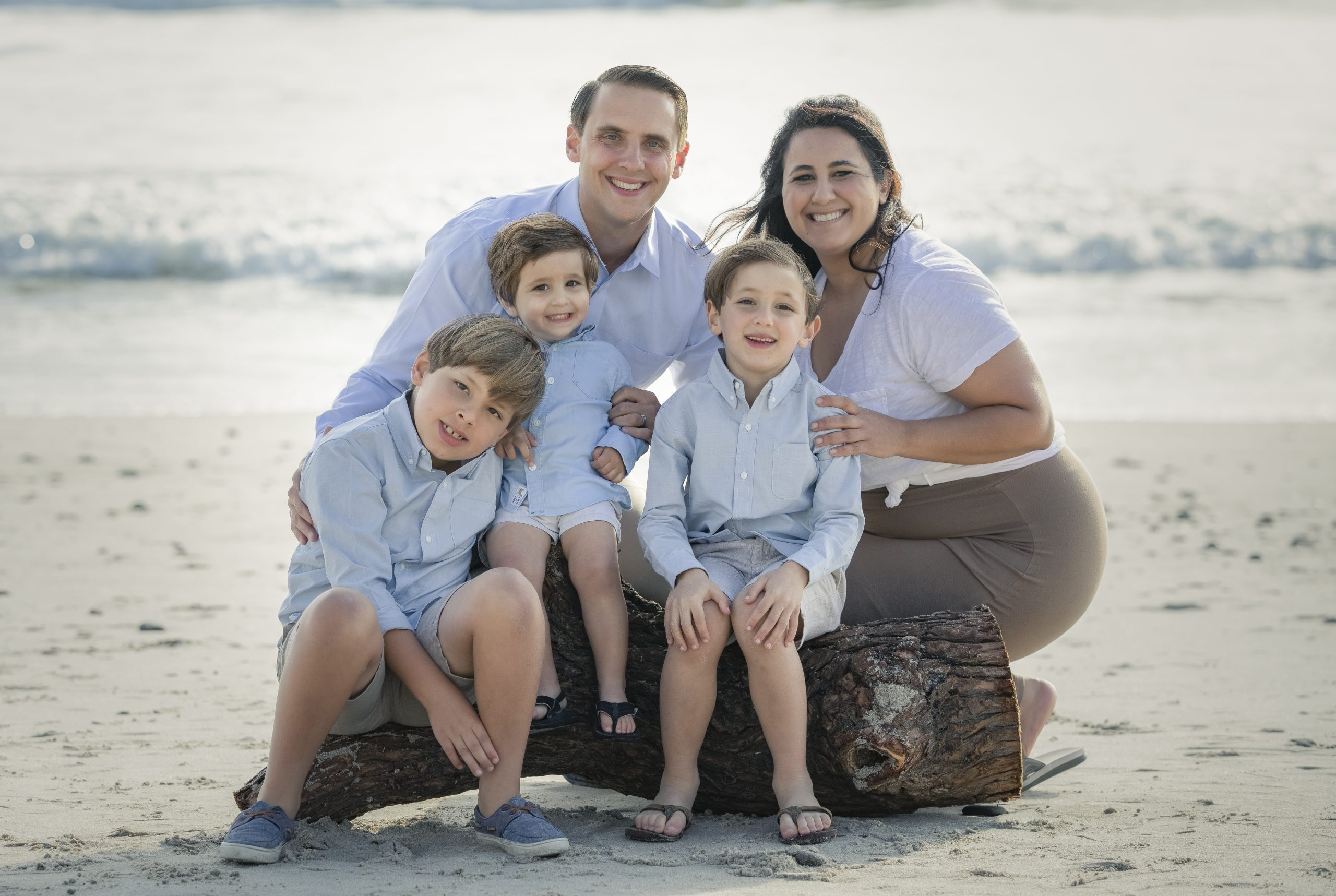Corey & Dimyena With Children