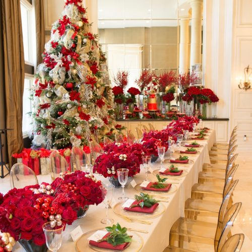Luxury Holiday Design And Decoration Service